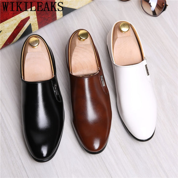Loafers Leather Shoes Men Formal Shoes Men Wedding Shoes Men Italian - Beltran's Enterprise
