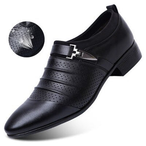 Designer Luxury Mens Dress Shoes Leather Italian Loafers Man Shoes Formal Party - Beltran's Enterprise