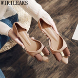 Office Shoes Women Wedding Shoes Bride Low Heels Women Shoes High Heel Fashion - Beltran's Enterprise