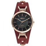 New MELISSA Women Watches Luxury MIYOTA Quartz Watch Waterproof Vintage Watches Waterproof Leather - Beltran's Enterprise