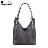 New Tassel Women Bags High Quality Leather Handbag Large Capacity Women Shoulder Bag - Beltran's Enterprise