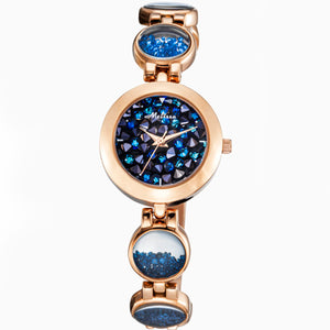 New Melissa Women's Watches Luxury Quartz Watch Waterproof Fashion Bracelet Watches Ladies Crystal - Beltran's Enterprise