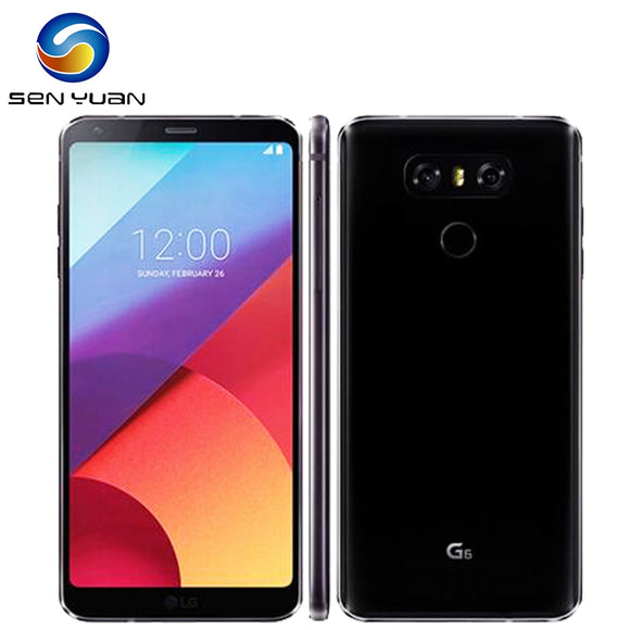 Original Unlocked LG G6 Quad Core 5.7 Inches 4GB RAM 32GB ROM Dual Rear Camera 13.0MP LTE 4G G6 Phone - Beltran's Enterprise