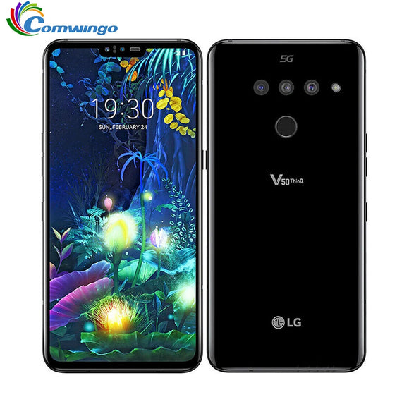Original unlock LG V50 ThinQ 6.4 inch 6GB RAM 128GB ROM - Beltran's Enterprise