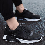 Men Sneakers Air Cushion Outdoor Walking Shoes Male Mesh Breathable Sport Road Running - Beltran's Enterprise