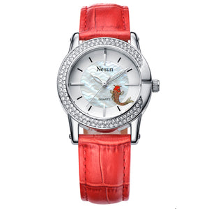 Switzerland Luxury Brand NESUN Women's Watches Japan Quartz Watch Women Sapphire Relogio - Beltran's Enterprise