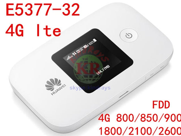 Unlocked Huawei E5377 4G wifi Router E5377s-32 4G mifi Pocket WiFi 3g/4g dongle  modem router wi-fi lte wifi 4g router with sim - Beltran's Enterprise