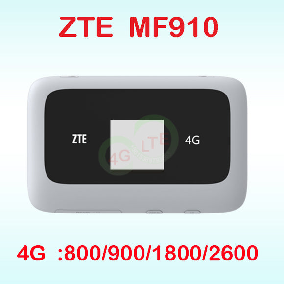 Unlocked ZTE MF910 LTE 4G WIFI Router 4G wifi dongle Mobile Hotspot  Router 3g 4g wifi router with sim card - Beltran's Enterprise