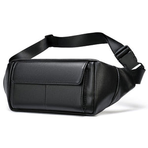 WESTAL belt bag leather waist bag for phone belt pack men pouch bags - Beltran's Enterprise