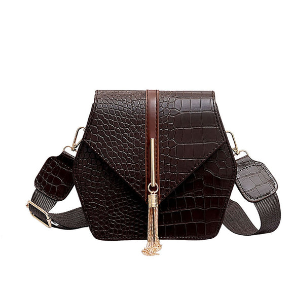 Women Bags 2019 New Women Wild Shoulder Bag Crocodile - Beltran's Enterprise