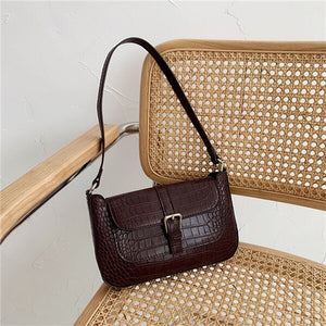 Designer Alligator Pattern Leather Crossbody Bags For Women - Beltran's Enterprise