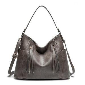 GORONLY Brand Vintage Leather Women Handbags Female Designer - Beltran's Enterprise