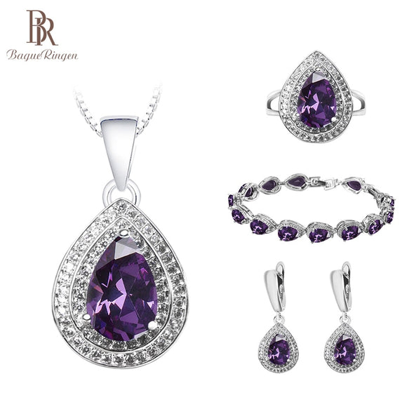 Bague Ringen Charms Silver 925 Jewelry Set for Women Trendy - Beltran's Enterprise