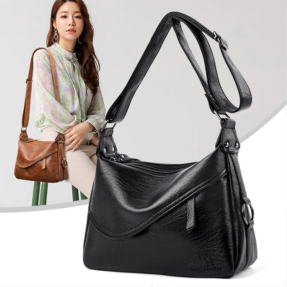 2020 New Handbag Women Bags Genuine PU Leather Lady Crossbody - Beltran's Enterprise