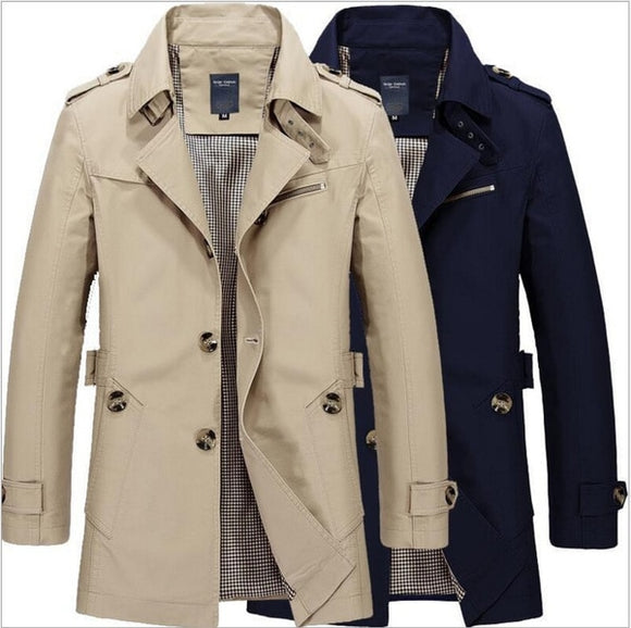 2020 New Plus Size Men's Stand Collar Thickening Jackets Coat - Beltran's Enterprise