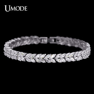 UMODE Wheat Design Tennis Bracelet & Bangle for Women Female Bracelet Bangle - Beltran's Enterprise