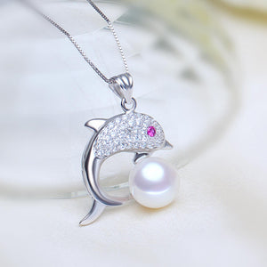 Fashion freshwater pearl pendant jewelry for women,genuine natural pearl pendant necklace - Beltran's Enterprise