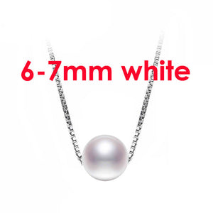 Popular freshwater pearl pendants jewelry women,genuine natrual pearl pendant fine jewelry - Beltran's Enterprise