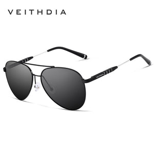 VEITHDIA Fashion Brand Unisex Designer Aluminum Men Sun Glasses - Beltran's Enterprise