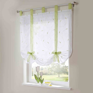 Embroidered Roman Curtain Home Wave European Stitching Colors Living Room - Beltran's Enterprise