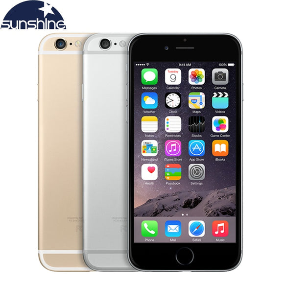 Unlocked Original Apple iPhone 6 Plus  Mobile Phone LTE  5.'5 IPS 1GB RAM - Beltran's Enterprise