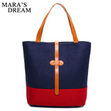 Mara's Dream  Handbags Women Bags Handbags High Quality Canvas Casual Tote Bags - Beltran's Enterprise
