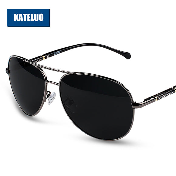 KATELUO Brand Designer Men's Sunglasses Polarized Lens Sun Glasses Male Classic Eyewears - Beltran's Enterprise
