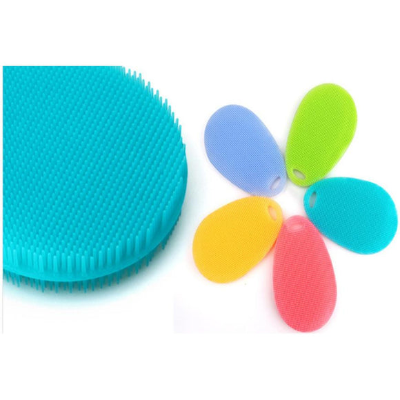 Silicone Brush Wash Bowl Super Soft Environmental Silicone Brush Hot Prevention Kitchen - Beltran's Enterprise