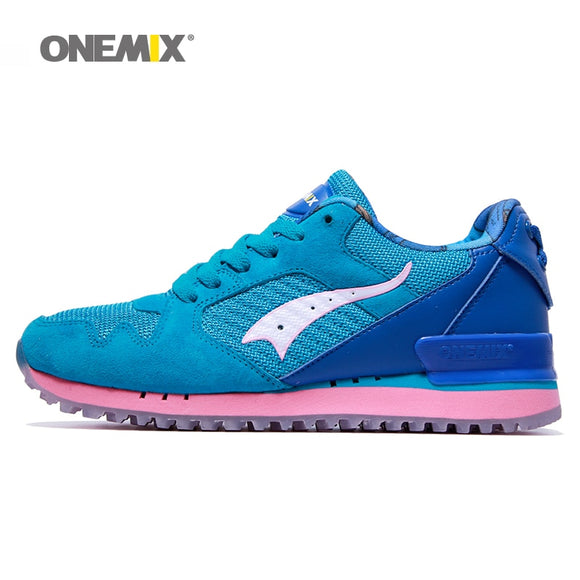 Onemix women classic retro running shoes lightweight sneakers for women outdoor - Beltran's Enterprise