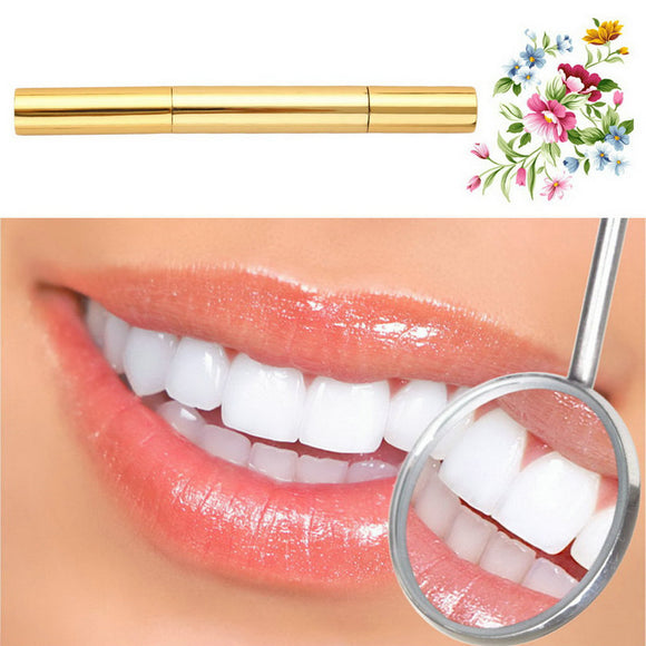 Top Quality  Dental Teeth Whitening Pen Bleach Stain Remover Tooth Gel Instant Whitener golden - Beltran's Enterprise