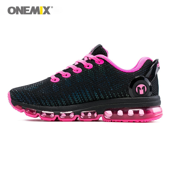 Onemix women running shoes women sneaker lightweight reflective mesh vamp sneaker - Beltran's Enterprise