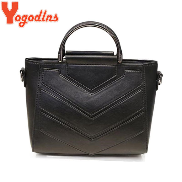 Yogodlns new Fashion cute Women Shoulder Bag High Quality Women Messenger Bag Women Tote Bag Leather Women Handbag Patchwork bag - Beltran's Enterprise