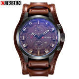 2017 CURREN Mens Watches Top Brand Luxury Fashion Casual Sport Quartz Watch Men Military - Beltran's Enterprise