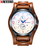 2017 CURREN Mens Watches Top Brand Luxury Fashion Casual Sport Quartz Watch Men Military WristWatch - Beltran's Enterprise