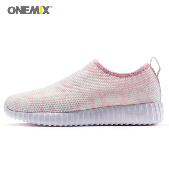 Onemix women running shoes breathable sneakers for women cool mesh durable rubber - Beltran's Enterprise
