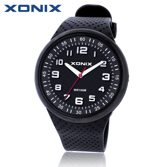 XONIX Fashion Mens Watches Top Brand Luxury Sports Watches Waterproof 100M Quartz Watch - Beltran's Enterprise