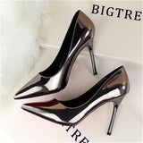 10 cm high heels shoes woman bigtree  wedding shoes OL  high heels - Beltran's Enterprise