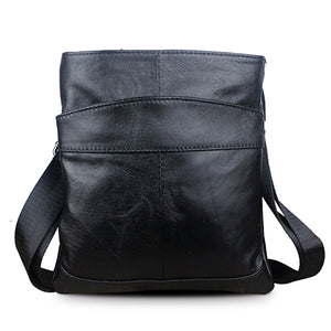 MVA Genuine Leather Men Bag Men Messenger Bags Fashion ipad Flap Crossbody Bags - Beltran's Enterprise
