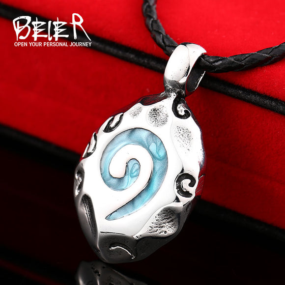 WoW World Of Warcraft Hearthstone Glass Round Pendant Charm Necklace Fine Jewelry Bronze - Beltran's Enterprise