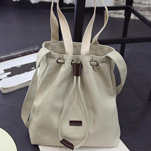 Fashion Women's Canvas Handbag Shoulder Messenger Tote Purse Bag - Beltran's Enterprise
