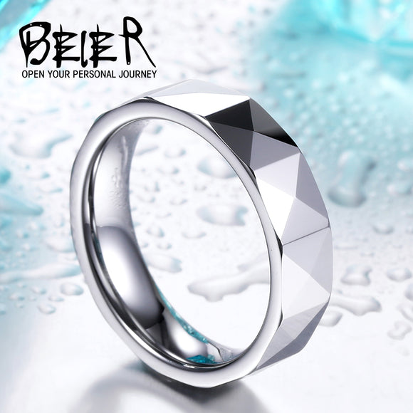 BEIER High Polished Man's Tungsten Ring Cheap Price Wholesale Factory Directly Sell - Beltran's Enterprise