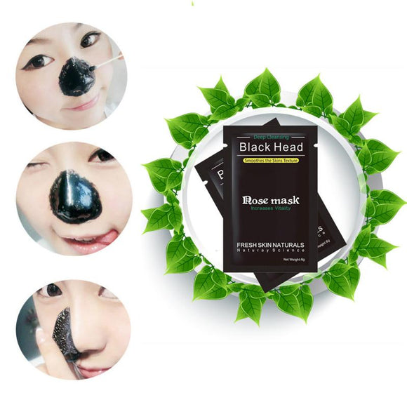 Newest!!! Blackhead Remover Black Mud Deep Cleansing Purifying Peel Acne Face Mask - Beltran's Enterprise