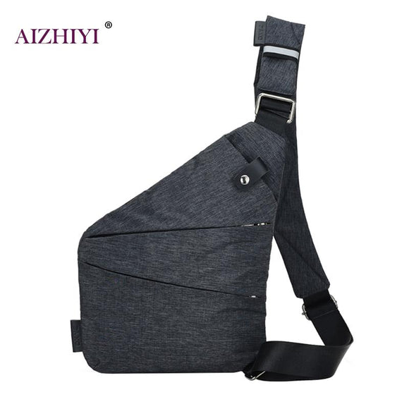 Unisex Anti-Theft Men'S Messenger Bag Shoulder Bags Men Hidden Chest Pack - Beltran's Enterprise