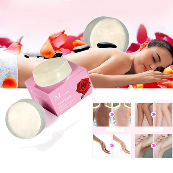 TOP Quality Whitening Enzyme Crystal Body Whitening Genitals Pink Areola Dilute Soap Guaranteed - Beltran's Enterprise
