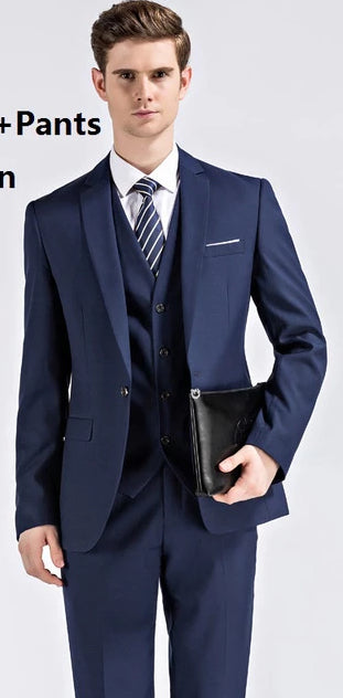 Fit Wedding Business Wear Formal Men Suit - Beltran's Enterprise