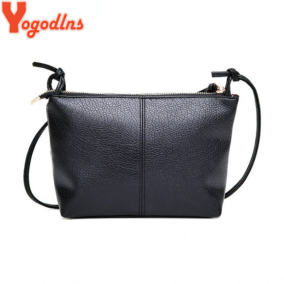 Yogodlns New&Hot ! 2018 fashion casual shoulder bag cross-body bag small vintage women's handbag pu leather women messenger bags - Beltran's Enterprise