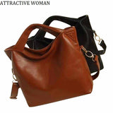 Sales Promotion!2018 Russia Women's Leather Bag Big Shoulder Bags Women Messenger Bags Handbags - Beltran's Enterprise