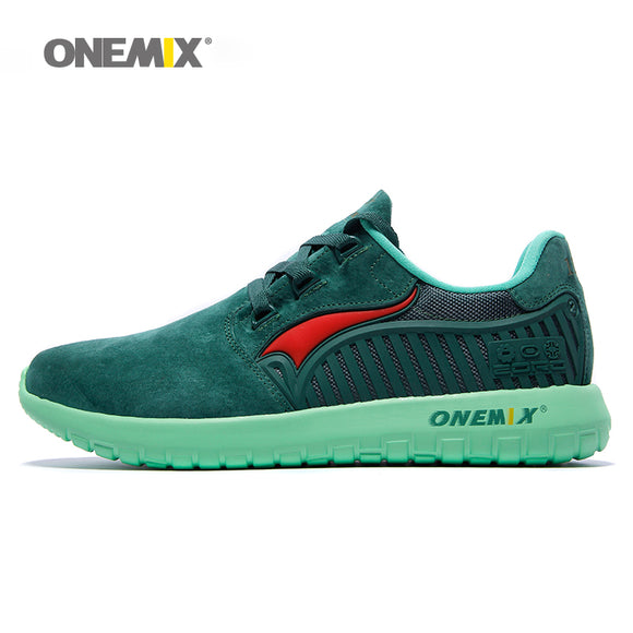 Onemix brand Autumn Winter unisex running shoes antislip women's retro sport sneakers - Beltran's Enterprise