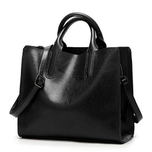 GORONLY Brand High Quality Leather Tote Bag Women Handbag - Beltran's Enterprise
