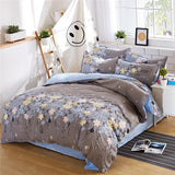 Solstice Fashion Cartoon Striped Plaid Flowers New Style Geometric Pattern Bedding - Beltran's Enterprise